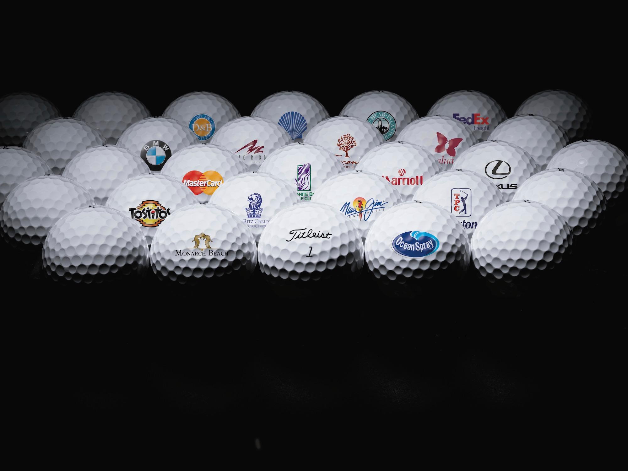 Golfbälle mit Ihrem Logo